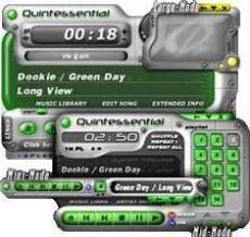 Скриншот 1 из 1 программы Quintessential Media Player