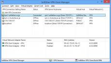 Скриншот 1 из 1 программы SoftEther VPN Client