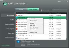 Скриншот 7 из 8 программы IObit Uninstaller