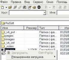 Скриншот 1 из 1 программы Русификатор CuteFtp
