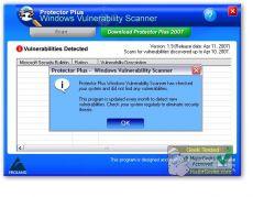 Скриншот 1 из 1 программы Windows Vulnerability Scanner