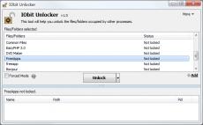 Скриншот 3 из 4 программы IObit Unlocker