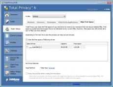 Скриншот 3 из 6 программы Total Privacy