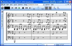 Скриншот 1 из 2 программы Notation Player