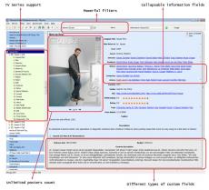 Скриншот 1 из 6 программы Personal Video Database