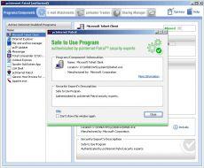 Скриншот 1 из 1 программы pcInternet Patrol