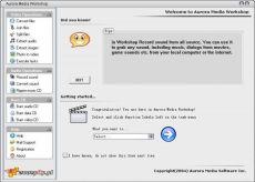 Скриншот 2 из 2 программы Aurora Media Workshop