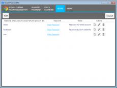 Скриншот 2 из 4 программы SecurePassword Kit