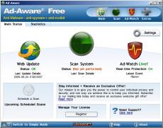 Скриншот 1 из 2 программы Ad-Aware Free Antivirus