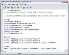 Скриншот 1 из 1 программы Inno Setup Compiler