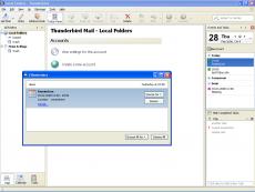 Скриншот 1 из 2 программы Mozilla Lightning Project