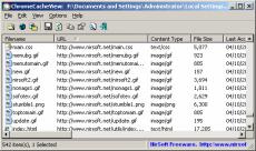Скриншот 1 из 1 программы ChromeCacheView