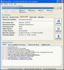 Скриншот 1 из 1 программы DVD Identifier