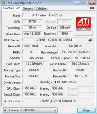 Скриншот 1 из 3 программы GPU-Z