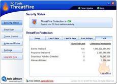 Скриншот 1 из 1 программы PC Tools ThreatFire