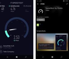 Скриншот 1 из 1 программы Speedtest by Ookla
