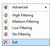 Скриншот 1 из 2 программы Windows Firewall Control