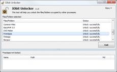 Скриншот 4 из 4 программы IObit Unlocker