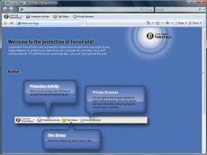 Скриншот 1 из 2 программы ZoneAlarm ForceField