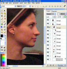 Скриншот 1 из 1 программы PhotoLine