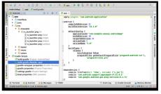 Скриншот 1 из 5 программы Android Studio
