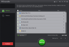 Скриншот 1 из 1 программы IObit PCtransfer