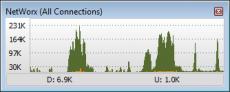 Скриншот 2 из 2 программы NetWorx