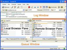 Скриншот 1 из 7 программы TurboFTP
