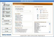 Скриншот 2 из 2 программы Simple Machine Protect