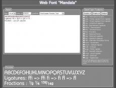 Скриншот 2 из 7 программы FontCreator