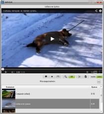 Скриншот 1 из 2 программы MP4VK