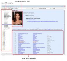Скриншот 3 из 6 программы Personal Video Database