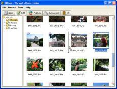 Скриншот 1 из 2 программы jAlbum