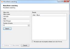 Скриншот 5 из 7 программы ID3 Renamer