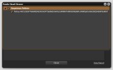 Скриншот 2 из 3 программы Panda Cloud Cleaner