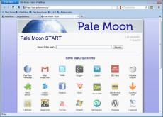 Скриншот 1 из 4 программы Pale Moon