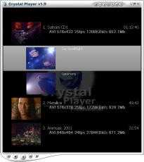 Скриншот 1 из 2 программы Crystal Player