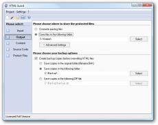 Скриншот 2 из 4 программы HTML Guard