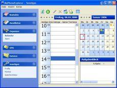 Скриншот 2 из 2 программы MyPhoneExplorer