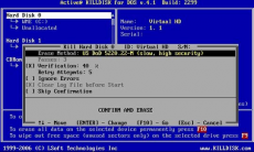 Скриншот 1 из 10 программы Active@ KillDisk