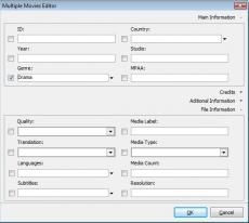 Скриншот 4 из 6 программы Personal Video Database