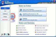 Скриншот 1 из 1 программы PC Tools AntiVirus
