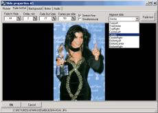 Скриншот 6 из 6 программы AL Pictures Slideshow Studio