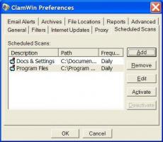 Скриншот 3 из 6 программы ClamWin Free Antivirus