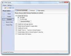 Скриншот 3 из 4 программы HTML Guard