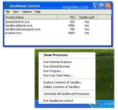 Скриншот 3 из 3 программы Sandboxie