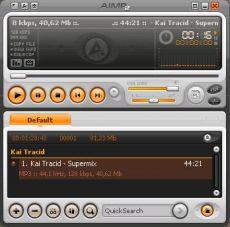 Скриншот 1 из 8 программы AIMP