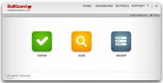 Скриншот 1 из 1 программы BullGuard Internet Security 2020