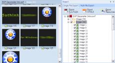 Скриншот 3 из 6 программы Sothink SWF Decompiler