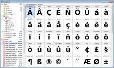 Скриншот 4 из 7 программы FontCreator
